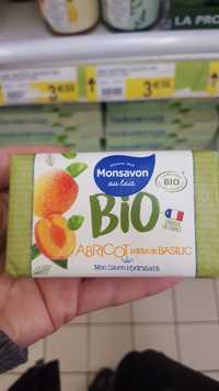 Monsavon - Bio abricot pointe de basilic - Mon savon hydratant