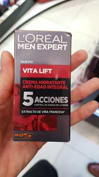 L'Oréal Paris - Vita Lift Men expert - Crema hidratante anti-edad integral