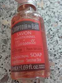 Le Comptoir du bain - Fleur d'oranger - Savon traditionnel de Marseille