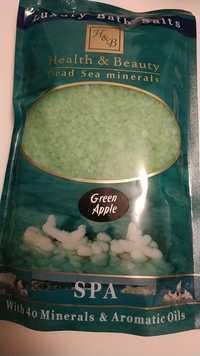 Health & Beauty -  Green apple - Luxury bath salts