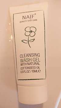 Naïf - Quality baby care - Cleansing wash gel
