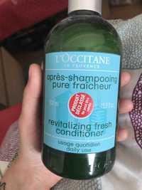 L'OCCITANE - Après-shampooing pure fraîcheur