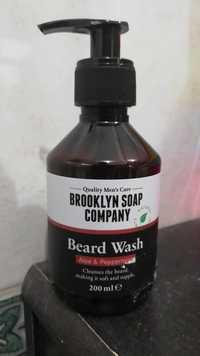 Brooklyn soap company - Beard wash aloe & peppermint