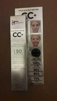 IT COSMETICS - CC+ - Crème correctrice hydratant et anti-âge SPF 50