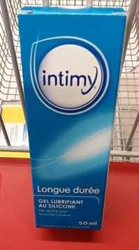 Intimy - Gel lubrifiant au silicone