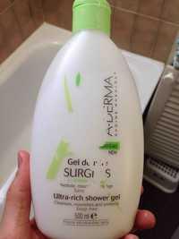 A-Derma - Gel douche Surgras à l'Avoine Rhealba