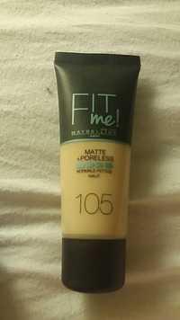 Maybelline - Fit me! - Matte+poreless