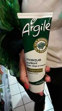 JUVAFLORINE - Masque purifiant à l'argile verte