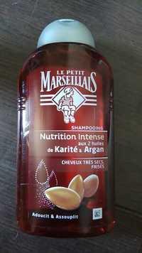 Le petit marseillais - Karité & argan - Shampooing nutrition intense