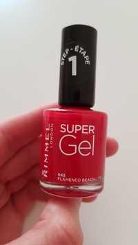 RIMMEL - Super gel - 045 flamenco beach