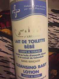 HT26 - Lait de toilette bébé corps & visage