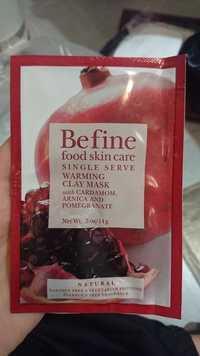 BEFINE - Single serve - Warming clay mask