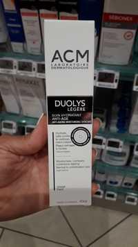 ACM Laboratoire Dermatologique - Duolys légère - Soin hydratant anti-âge