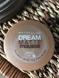 Maybelline - Dream matte mousse - Fond de teint 2 dark caramel