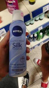 NIVEA - Luxurious shower silk mousse