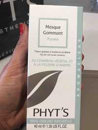 Phyt's - Aromaclear - Masque gommant pureté