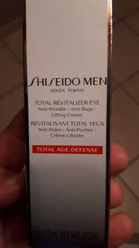 Shiseido - Men - Revitalisant total yeux