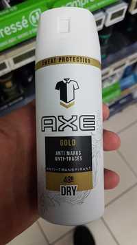 AXE - Gold - Anti-transpirant dry 48h