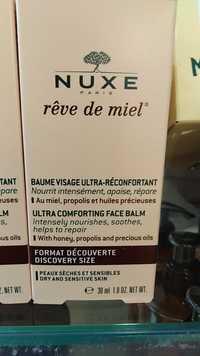 NUXE - Rêve de miel - Baume visage ultra-réconfortant