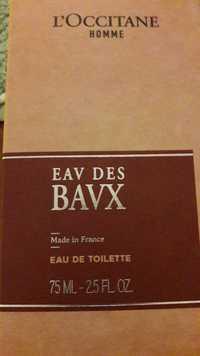 L'OCCITANE - Homme - Eav des Bavx - Eau de toilette