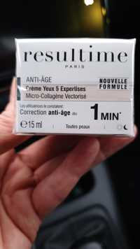 Resultime - Anti-âge - Crème yeux 5 expertises