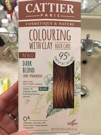 CATTIER - Colouring with clay N° 6.0 dark blond