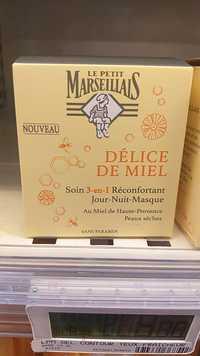 LE PETIT MARSEILLAIS - Délice de miel - Soins 3-en-1 réconfortant jour-nuit masque