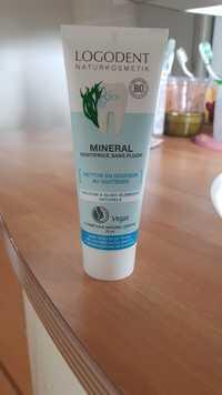 Logodent - Mineral - Dentifrice sans fluor