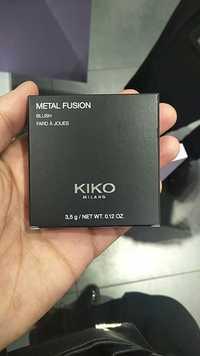Kiko - Metal fusion - Fard à joues