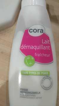 Cora - Lait démaquillant fraîcheur tous types de peaux