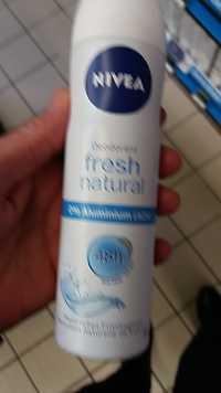 NIVEA - Fresh natural - Déodorant 48h