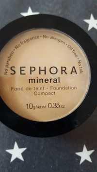 Sephora - Fond de Teint - Mineral