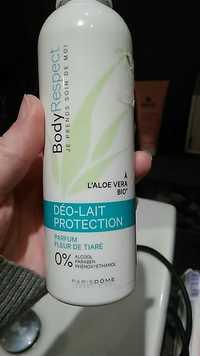 PARIS DÔME - Body respect - Déo-lait protection à l'aloe vera bio