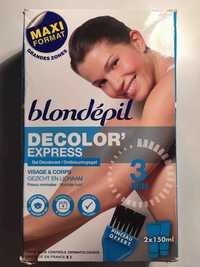 Blondépil - Decolor'express - Gel décolorant visage & corps