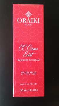 ORAIKI - Cc crème eclat - Toutes peaux