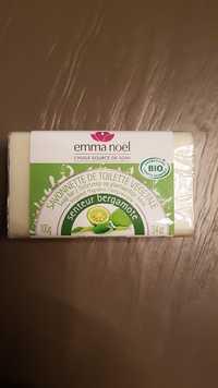 EMMA NOËL - Senteur bergamote - Savonnette de toilette végétale