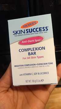 PALMER'S - Skin success anti-dark spot complexion bar