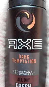 AXE - Dark temptation - Déodorant fresh & bodyspray