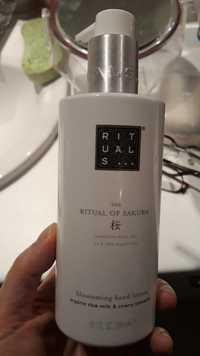 RITUALS - The ritual of sakura - Blossoming hand lotion