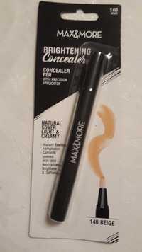 Max & More - Brightening - Concealer pen 140 beige