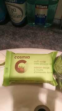 Cosmia - Savon doux à l'huile d'amande doux