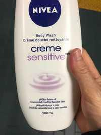 NIVEA - Sensitive - Crème douche nettoyante
