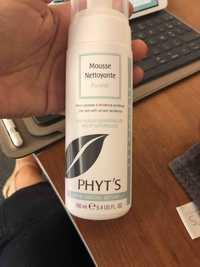 Phyt's - Pureté - Mousse nettoyante aux huiles essentielles bio