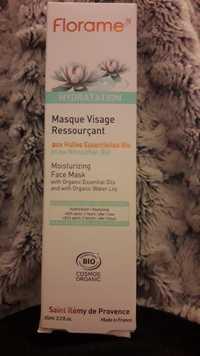 FLORAME - Hydratation - Masque visage ressourçant bio