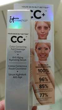 IT COSMETICS - CC+ - Crème correctrice + Sérum hydratant anti-âge