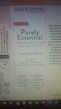 DIADERMINE - Purely essential - Crème de jour protectrice