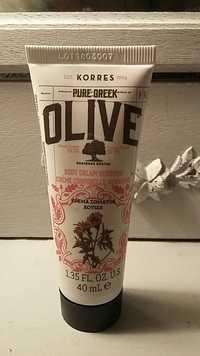 KORRES - Olive - Crème corporelle verveine