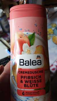 Balea - Pfirsich & weisse blüte - Cremedusche