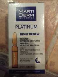 MartiDerm - Night anti-aging booster