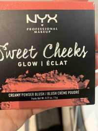 NYX - Sweet cheeks glow - Blush crème poudré